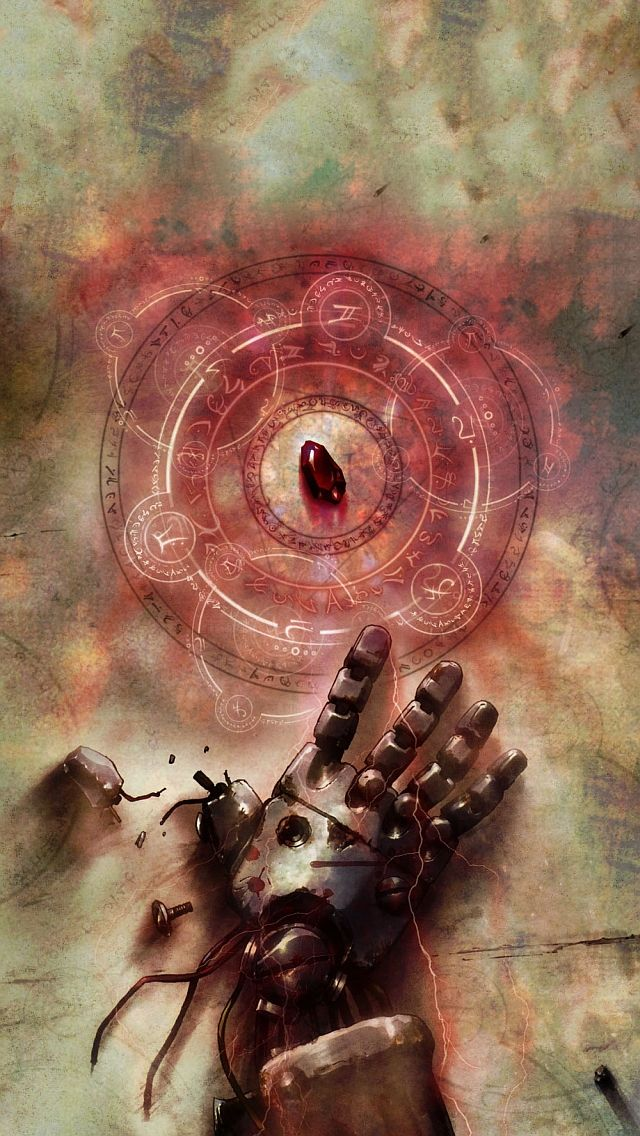 Full metal alchemist iPhone 5 Wallpapers