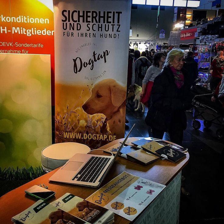 DOGTAP auf der Dortmunder Messe PFERD UND HUND mit der DEVK #pferdundhund #dortmund #dogtap #devk #messe #fair #dog_tap #2016