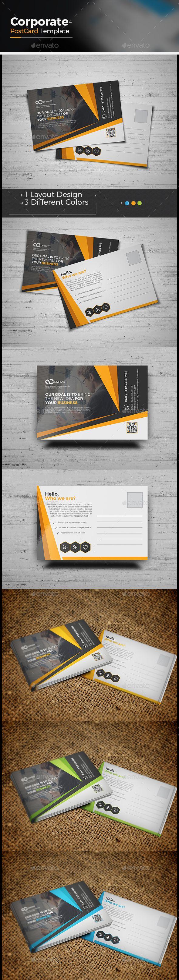 Corporate Business Postcard 78 best Design Layouts
