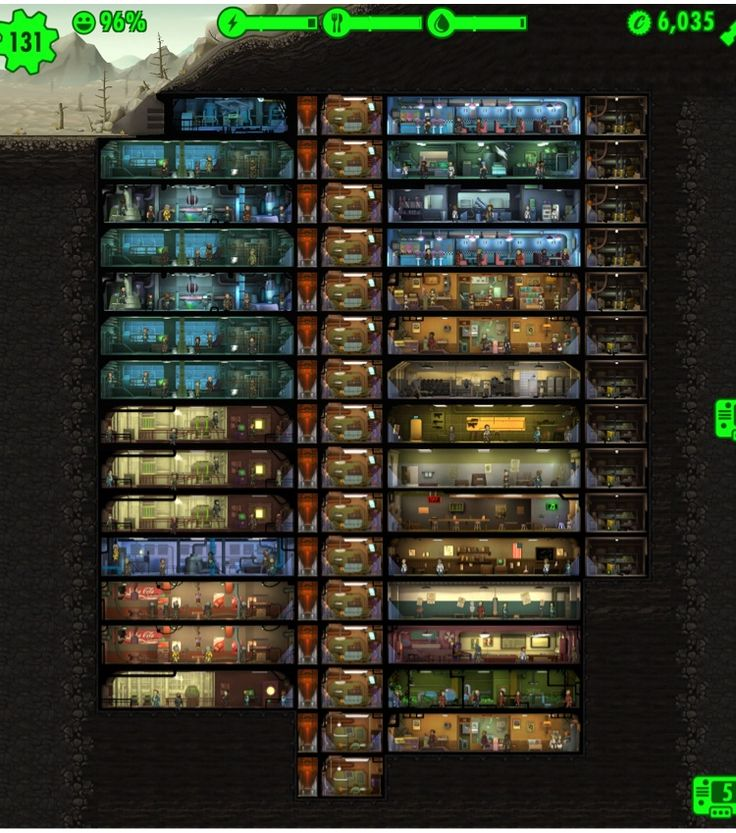 Vault Layouts Fallout Shelter - Google Search