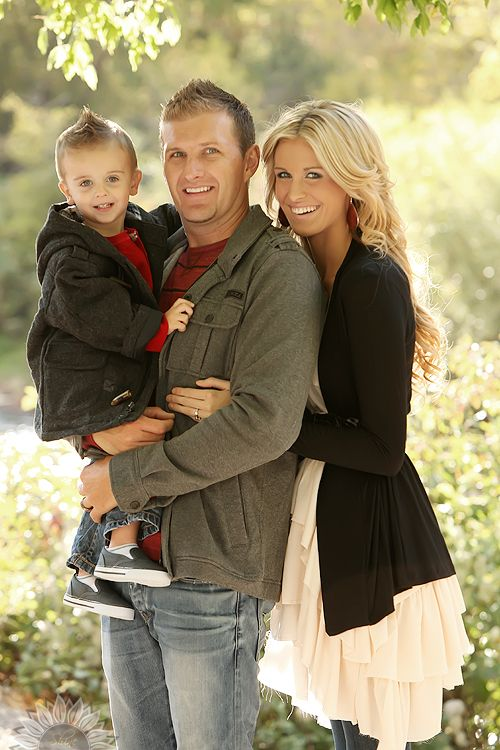 family pose idea