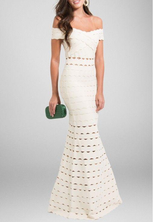 POWERLOOK- Aluguel de Vestidos Online - Vestido Batik longo ombro a ombro bandagem - bege   #batik #vestidolongo #longo #ombroaombro #bandagem #bege #alugueldevestidos #powerlook #vestidomadrinha #madrinha #vestidocasamento #casamento #vestidofesta #festa #lookcasamento #lookmadrinha #lookfesta #party #glamour #euvoudepowerlook  #dress   #dia