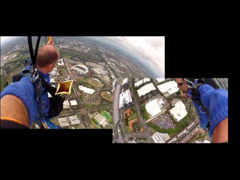 Telstra Skydive into sport event