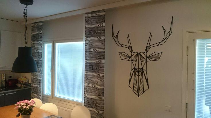 Laser cut deer