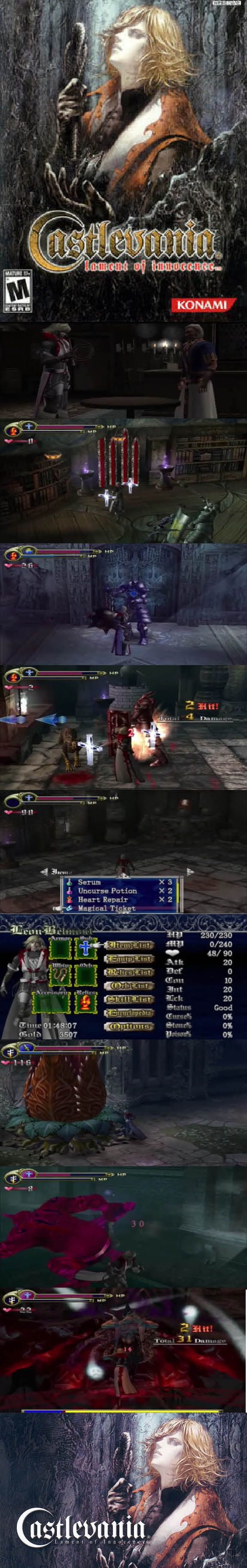 #RetroGamer Lament of Innocence is the first #Castlevania game for the #Xbox #PlayStation 2 generation! http://www.levelgamingground.com/castlevania-lament-of-innocence-review.html