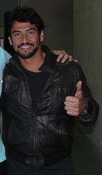 Con el gran actor Gabriel Porras.JPG