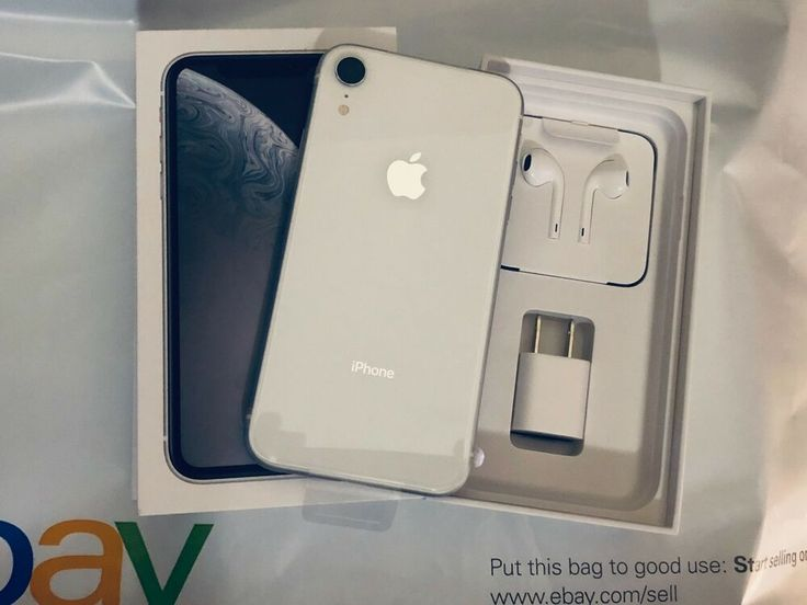 Apple iPhone XR - 64GB - White (T-Mobile) A1984 (CDMA GSM) - Iphone XR #iphoneXR #XRIphone