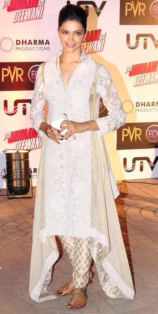 Deepika Padukone at the screening of 'Yeh Jawaani Hai Deewani' #YJHD #Bollywood #Fashion
