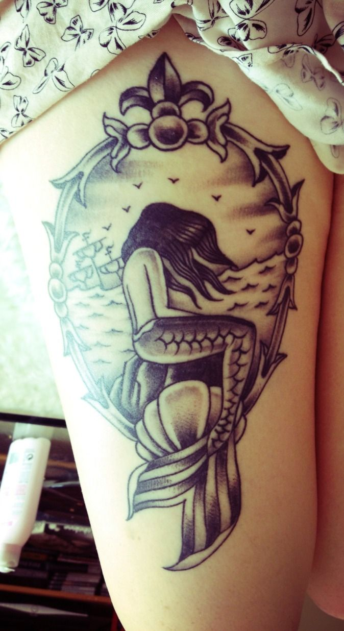 if i were to get a thigh tattoo