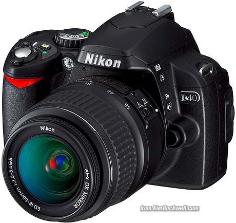 Nikon D40 review with great tips from Ken Rockwell. How to turn on Auto ISO for Manual mode is SO helpful!