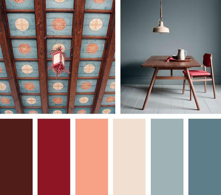 17 mejores ideas sobre Combinaciones De Colores Interiores en ...