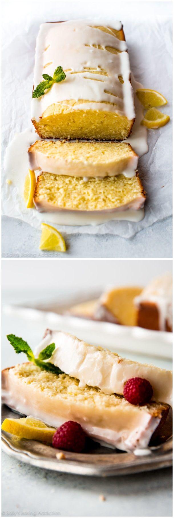 Iced Lemon Pound Cake