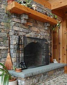 Natural Stone Fireplace Design Encompasses A Wide Range Of Stone Types,  Shapes, Colors, Textures And Finishes, Giving You A One Of A Kind Hearth  That Is ...