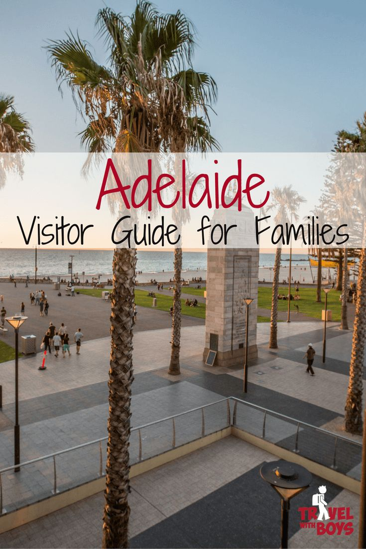 Your Guide to Adelaide with Kids, South Australia - Travel with Boys Adelaide in South Australia was recently voted as the world's fifth most liveable city and was in the top five must-see regions in the world. Yes, IN THE WORLD! So it's true that you really need to visit it. We swear that you won't regret visiting Adelaide with kids. Here is your guide on what to see, do and stay in Adelaide. #australiatravel #familytravel #adelaide #southAustralia #australiawithkids