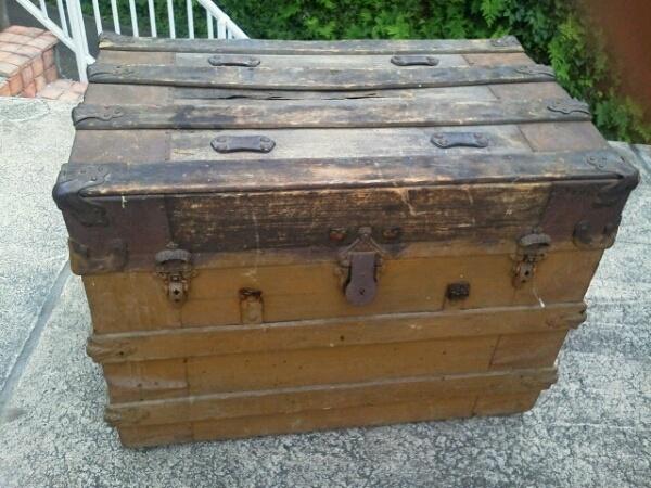 アメリカ製 ヴィンテージ トランク弾薬ケース アンティーク Antique trunk ¥19800yen 〆04月12日