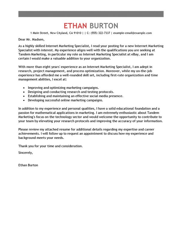 The 25+ best Free cover letter examples ideas on Pinterest Cover - export agent sample resume