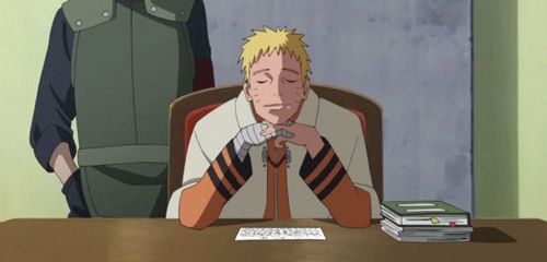 <3 Kakashi & Naruto Awwwww lol poor Naruto haha that's how I am at school right now tho....