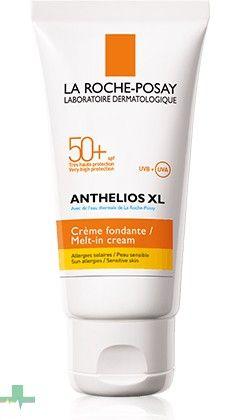 #ANTHELIOSXL50CREMA es un #protectorsolar de muy alta protección que hidrata y protege tu piel de la incidencia de los rayos solares. http://www.farmachueca.com/la-roche-posay-anthelios-xl-spf-50-crema-fundente.html