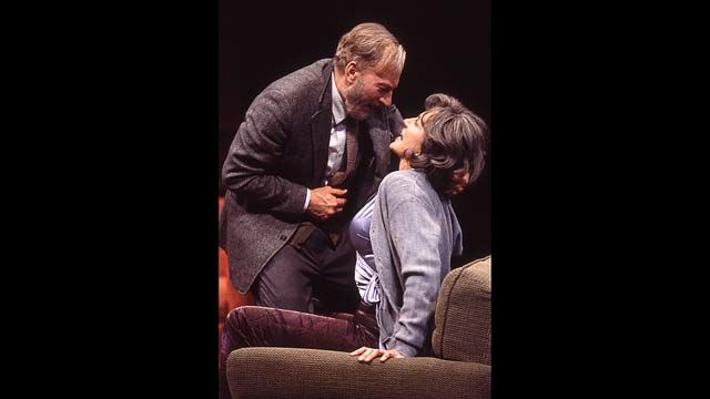 mercedes ruehl virginia wolf | Patrick Stewart and Mercedes Ruehl of the Guthrie Theater's Production ...