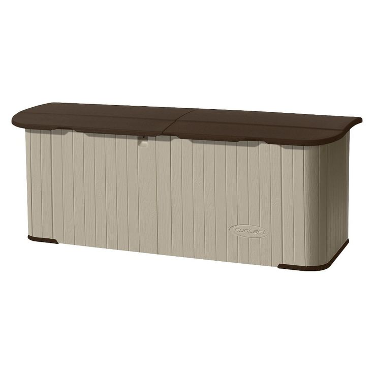 Suncast Multi-Purpose Storage Shed, Taupe Brown