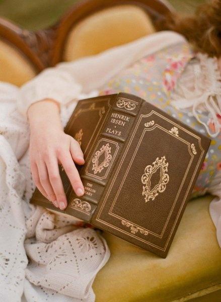 Falling asleep reading...