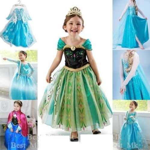 Vestido de fiesta Disney Frozen Princesa Anna Elsa Queen Chica Disfraz Cosplay formal | Ropa, calzado y accesorios, Ropa, zapatos y accesorios de niños, Ropa de niñas (talla 4 y más grande) | eBay!