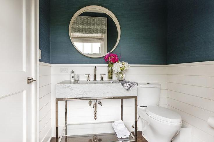 Half Bathroom Or Powder Room: Best 25+ Blue Powder Rooms Ideas On Pinterest