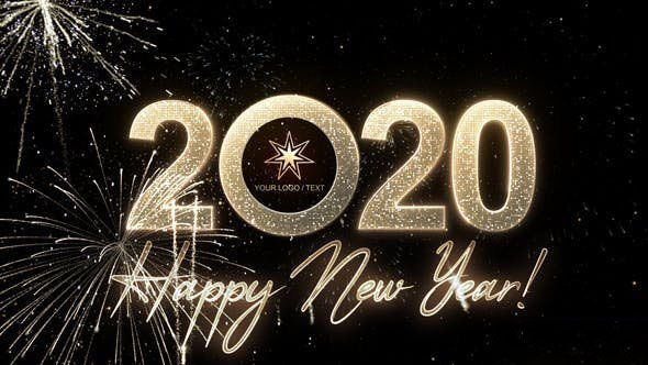 Videohive Modern New Year Countdown Clock 2020 New Years Countdown Countdown Clock New Year S Eve Celebrations