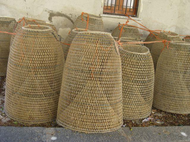 Fishing Basket To Lighting Woven In 2019 Basket