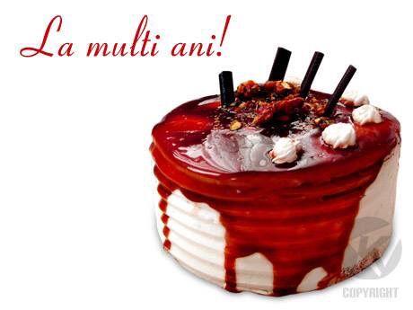 La mulți ani ! Felicitări