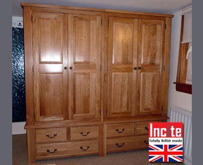 British Made Solid Oak Wardrobe With drawer Configuration Below By Incite  Interiors Derbyshire. The 25  best Solid oak wardrobe ideas on Pinterest   Oak wardrobe