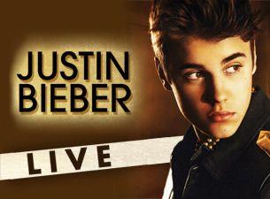 Buy Justin Bieber tickets online
