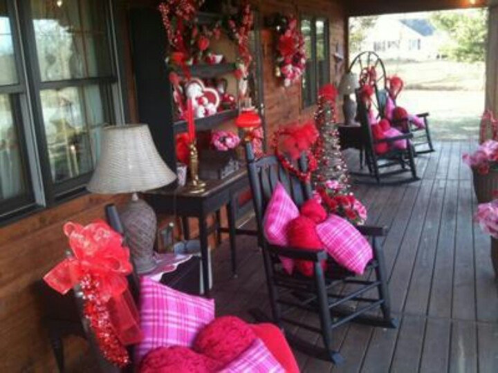 very pink porch valentine 39 s day pinterest