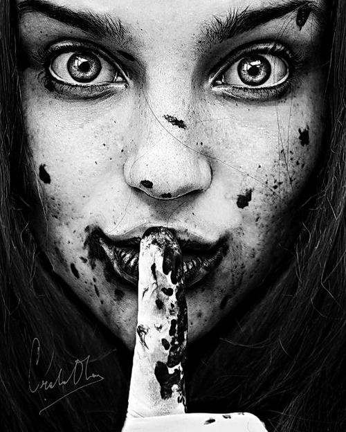 Don't tell mom. by Cristina Otero aka Senju-HiMe. S)...it creeps me out