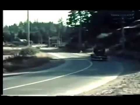 Colour film footage of the (Old) Island Highway in 1938 #yyj