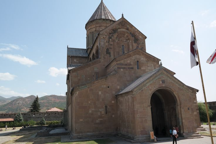 Mtskheta is one of the oldest continuosly inhabited cities in the world, and is the headquaters of the Georgian Orthodox Church.