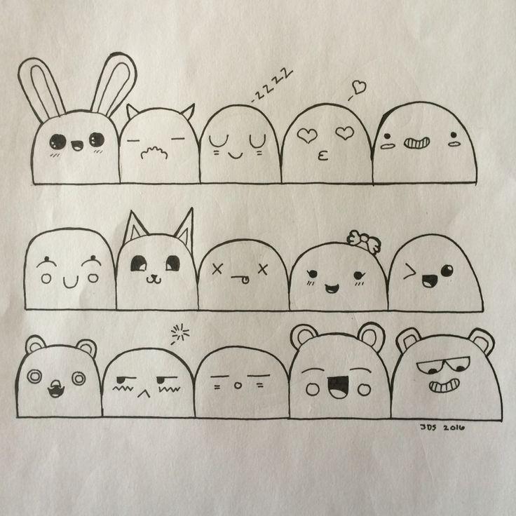 Картинка для срисовки карандашом для начинающих личный дневник