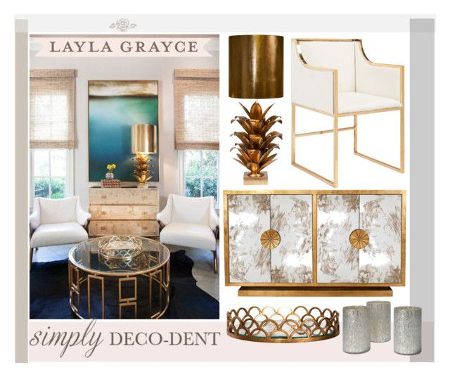"""""""Simply Deco-dent & Elegant with Layla Grace"""" by krskinner ❤ liked on Polyvore"""