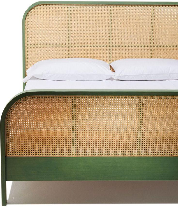Cane Queen Bed in 2020 Bed, King beds, Queen beds