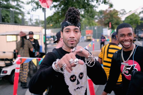 DJ Esco Photos Photos - DJ Esco seen backstage during the Meadows Music and Arts Festival - Day 2 at Citi Field on September 16, 2017 in New York City. - The Meadows Music and Arts Festival - Day 2