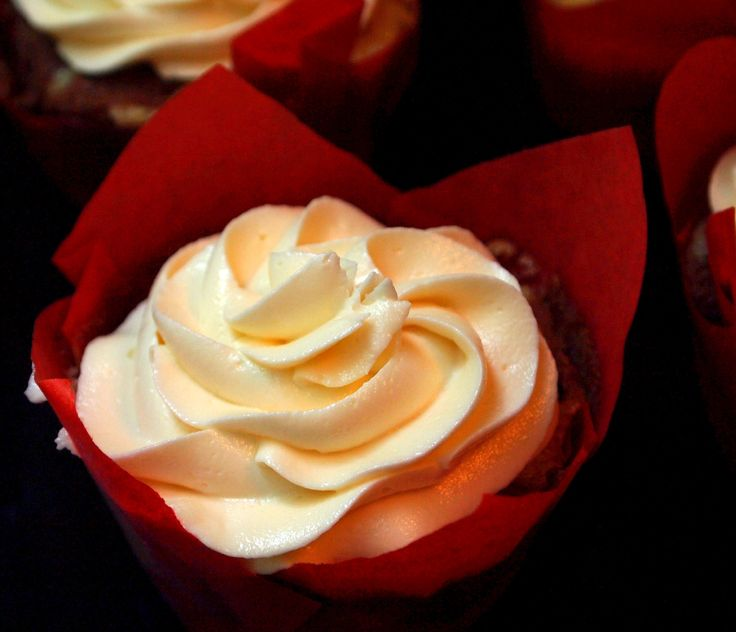 """""""The Only Other Frosting You'll Ever Need"""" White Chocolate Buttercream."""