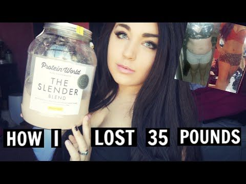 My Weight Loss Journey + Protein World Review/ How I lost 35 lbs + Befor...