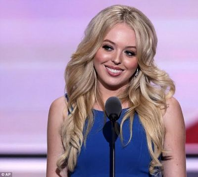 Donald Trump's youngest daughter, Tiffany Trump gave a speech at the Republican National Convention