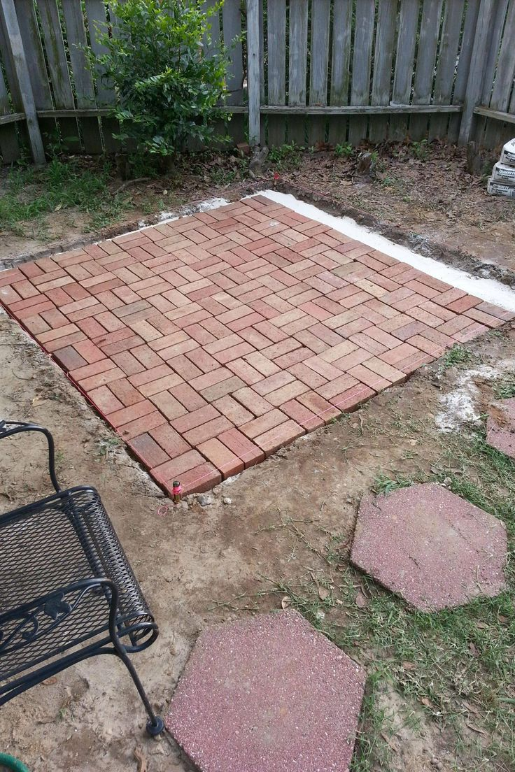 How To Make Backyard Brick Patio