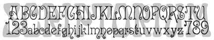Art Deco Font Collection | Fontcraft: Scriptorium Fonts, Art and Design