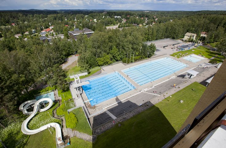 Maauimala, Riihimäki. Kuva: Tapio Aulu