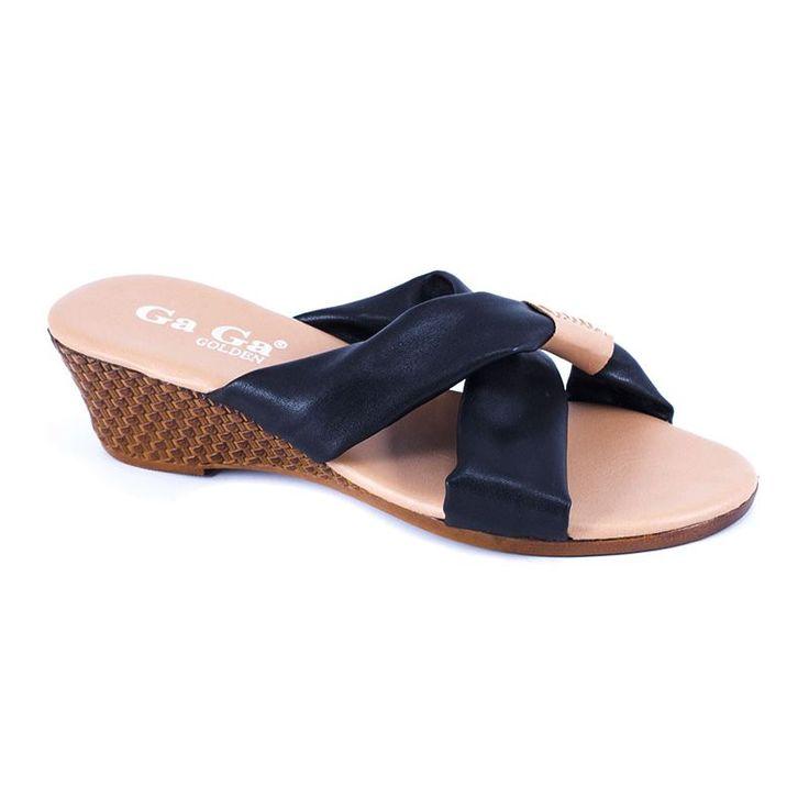 Papuci dama XQT2013-A - Negru