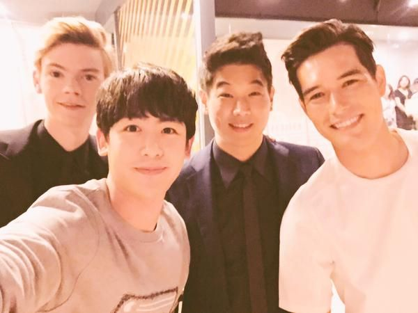 """Actor Ki Hong Lee, 2PM's Nichkhun and Ricky Kim Promote """"Maze Runner: The Scorch Trials""""   http://btscelebs.com/2015/09/02/actor-ki-hong-lee-2pms-nichkhun-and-ricky-kim-promote-maze-runner-the-scorch-trials/"""