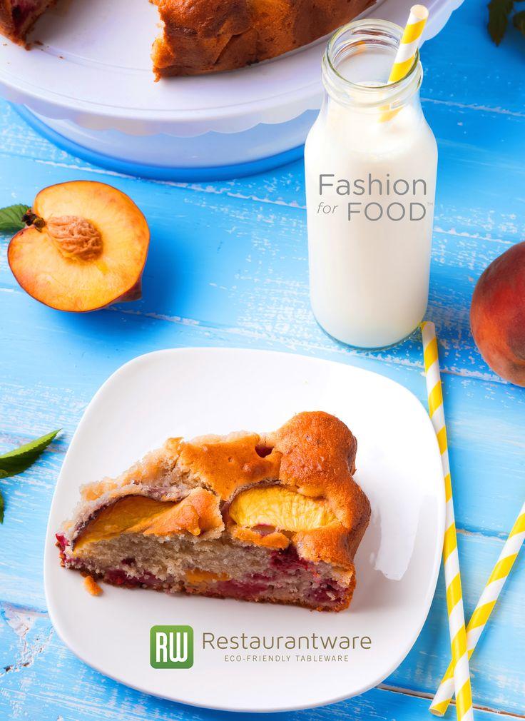 Cake & Milk  #Cake #Breakfast #Fooporn #Foodie