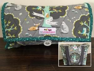 Diaper Clutch AND Day Bag pattern SET! Great bundle!!! :)